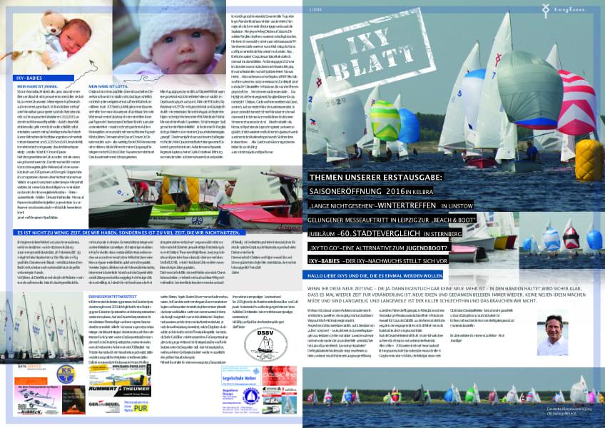 Ixyblatt 2016 – 1